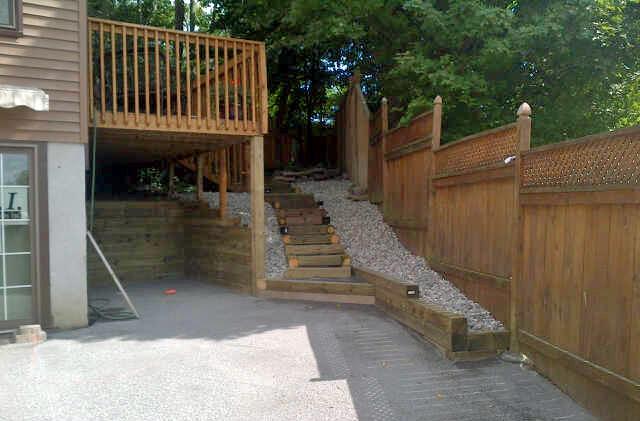 Back Yard Deck: March 23, 2013
